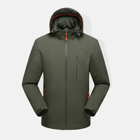 High quality profeesional windbreakers softshell jacket zipper up high standard outdoor water proof jacket for men 20000mm