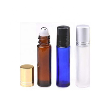 New design roll on glass bottle with best quality