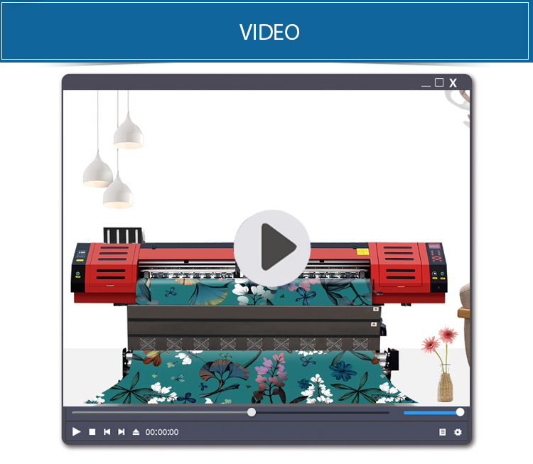 Geniş Format Polycotton süblimasyon tekstil BASKI MAKİNESİ
