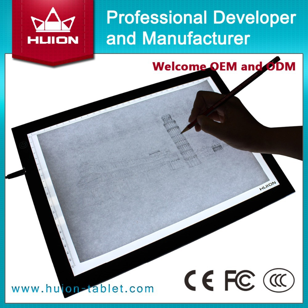 aliexpress china huion tattoo light tracing board led tracing board