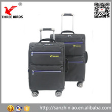 2015 Alibaba China factory HeBei 3pcs high quality waterproof men women children caster in rolling luggage travel trolley bags