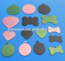 customize LOGO blank pet id tags adopt for metal