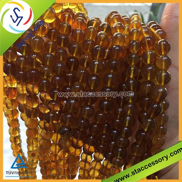 Amber Beads with Low Price,Wholesale Natural Stone Beads