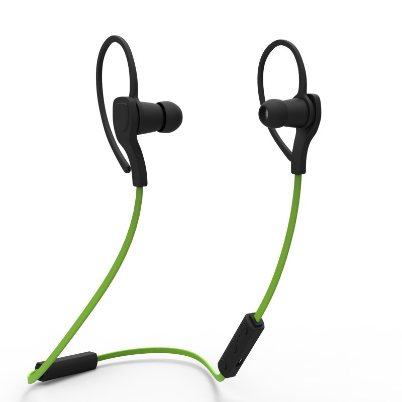 d4daed6b085 Fashion in-ear stereo BT headset portable earphone for sport running  Neckband wireless headphones Noise Cancelling. >