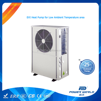 Energy Saving Technology Extreme Cold Winter Evi Heat Pump
