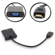 HDMI to VGA Adapter male to female Converter Support 1080p