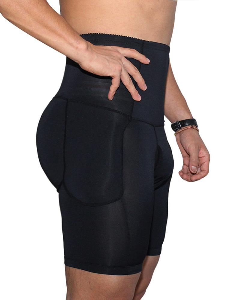 Men's Body Shaper Tummy Control Slimming Shapewear Shorts High Waist bdomen Trimming Boxer Brief Stretch Pants