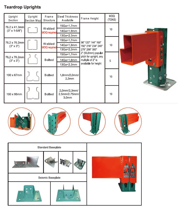 Storage Heavy Duty Folding Tire Hs Code Pallet Rack - Buy ...