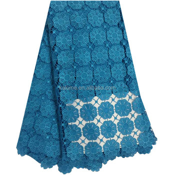 Latest African Tulle Lace Guipure African Water Soluble Lace For Wedding DG0629-6