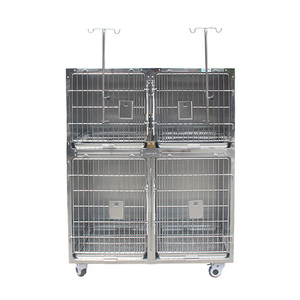 MY-W017F Veterinary Equipment Cat Cage Banks Cages Stainless steel Dog Cage Pet Kennels