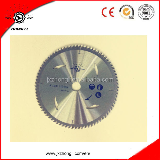 "10"" 100teeth TCT circular saw blade.tct circular saw blades for aluminium cutting,tct saw blade for cutting aluminum,tct planer"