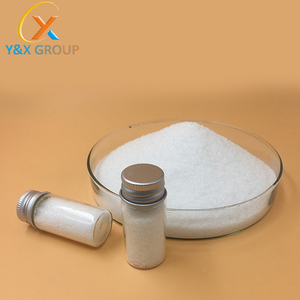 Paper making chemicals/white powder C-PAM/cpam/cationic polyacrylamide for sludge dewatering YXFLOC