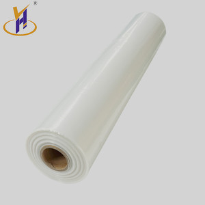 New arrival Colored ldpe plastic household high shrinkage rate quality pe shrink film for packing usage