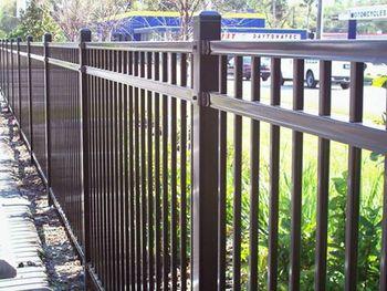 aluminum fence coated aluminum fence prices