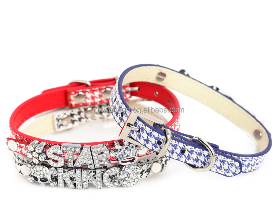 Crocodile bling pet dog cat collar