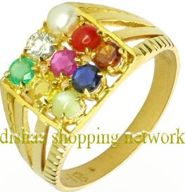 Nine Gemstones Navratan Ring @499/-only Call: 99-539-86-541
