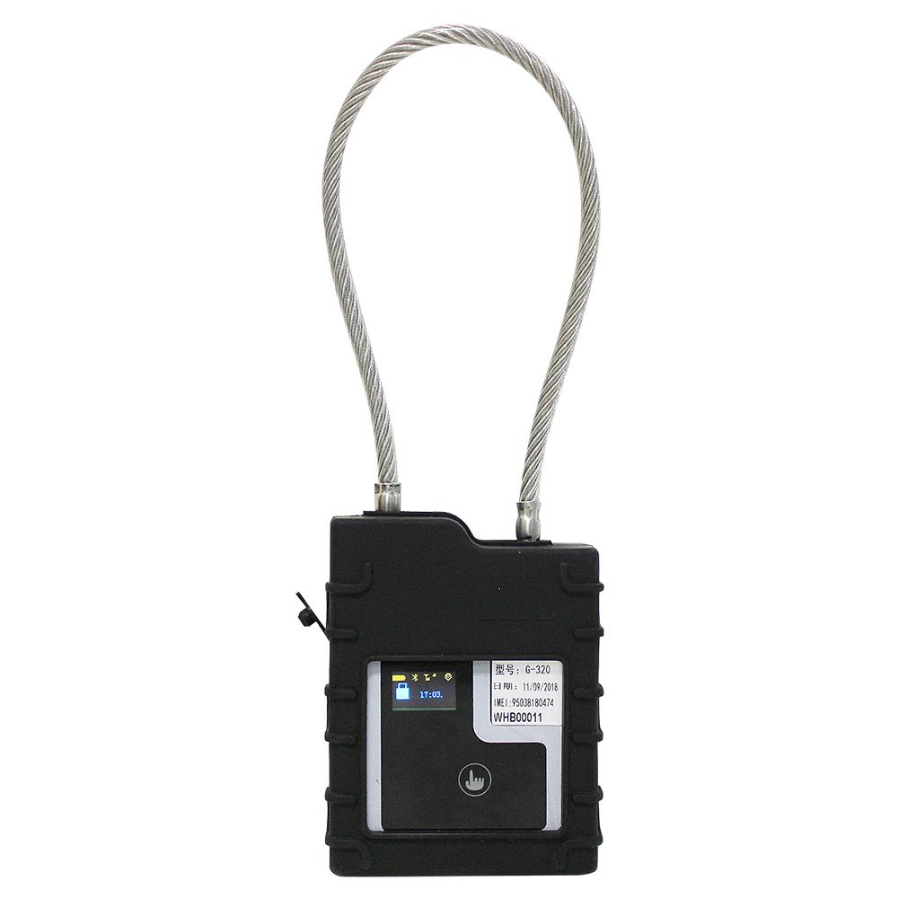ความปลอดภัยสูง GSM คอนเทนเนอร์ล็อค RFID กุญแจสำหรับโลจิสติกส์การขนส่งที่แข็งแกร่งสาย