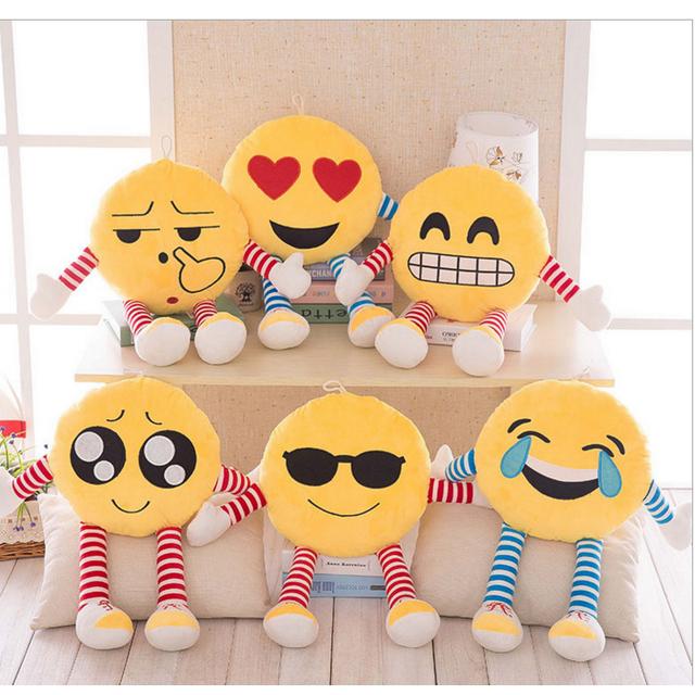iphone imessage emotions whatsapp emoji stuffed plush soft toy Plush Pillow