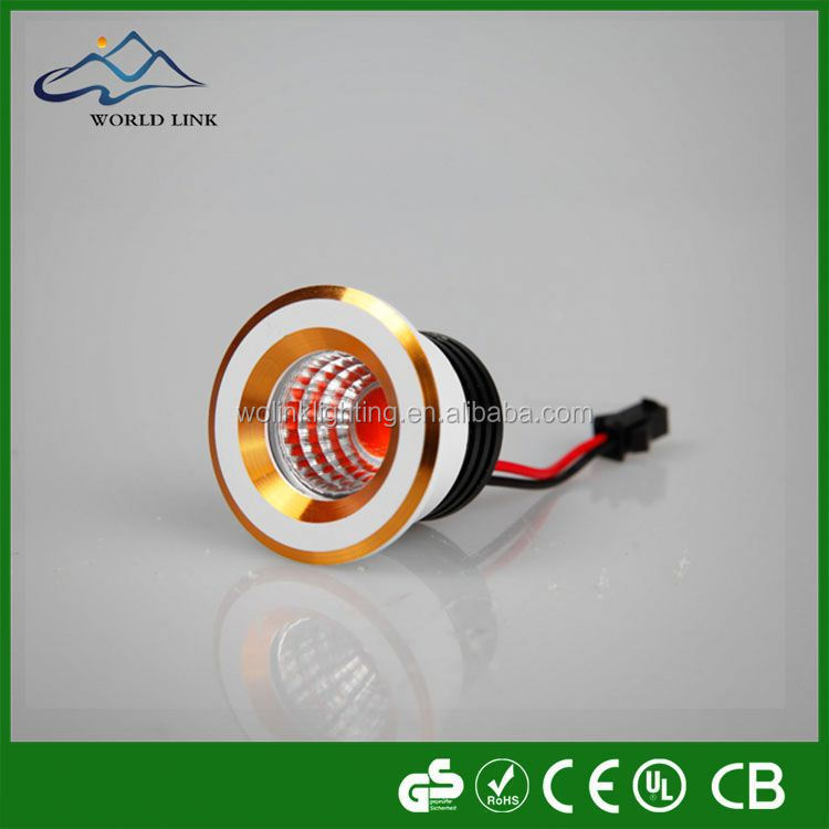 70-90lm/W COB LED Downlight commercial led cob gimbal adjustable AL IP44 mini cob led downlight