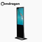 LCD Ad Player Capacitive 32-Inch Floor Standing Advertising Player with Magazine Case and LED Advertising Display Player with US