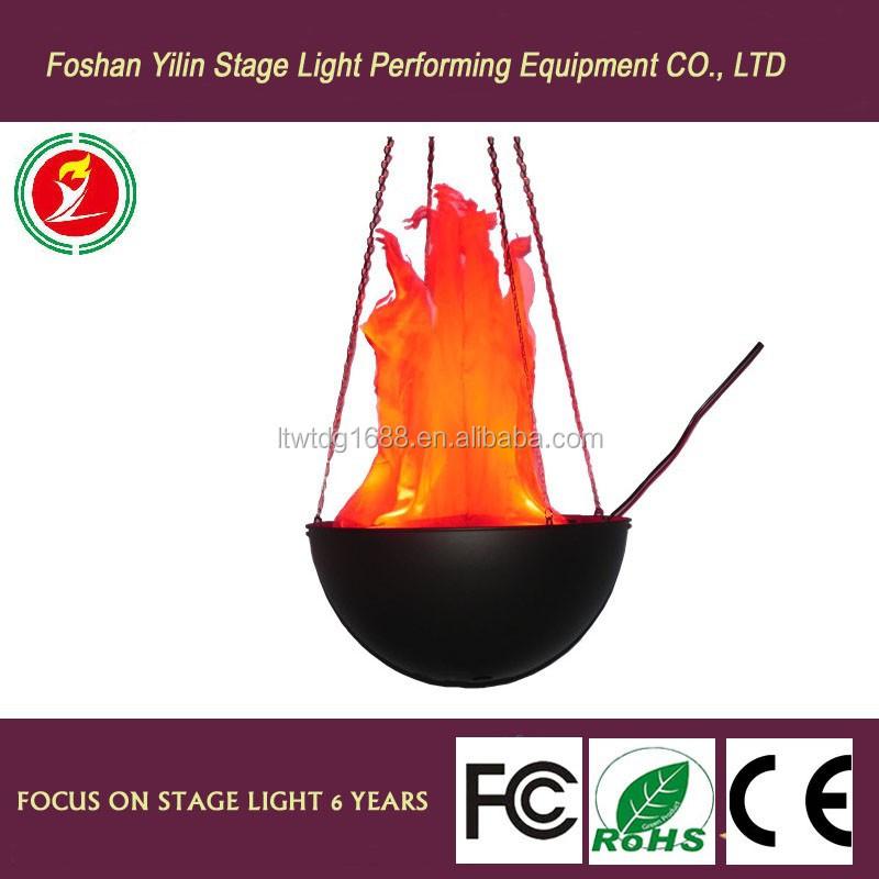 Yilin 50cm Led Handing Silk Fake Flame Light Lighting For ...
