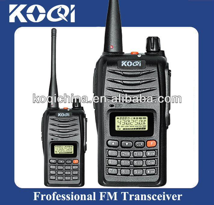 7W Powerful VHF/UHF Cb Radio KQ-889 2 Way Walkie Talkie