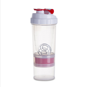 Sweety Mile Wholesale protein 500ml custom plastic sport water bottle shaker bottle logo with good quality