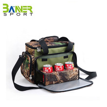 Multi-compartment Recycled Polypropylene Insulated Lunch Bag/Thermal Lunch Bag/lunch bag wax canvas