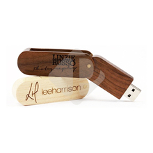 Bulk 2GB Usb Flash Drive Wood Swivel USB Pen Drive Free Samples Worldwide