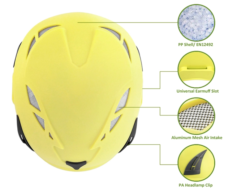Well Balance Rock Climbing Helmet With EN12492 Certification 6