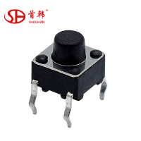 SKHHBYA010 EVQPAG07K Momentary remote control 4 pin DIP Surface mount Tact tactile switch 6*6mm