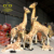 China suppliers New product fiberglass sculpture Lifelike Giraffe statue for Theme Park decoration