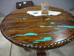 Turquoise Inlay Mesquite Furniture Buy Turquoise Inlay