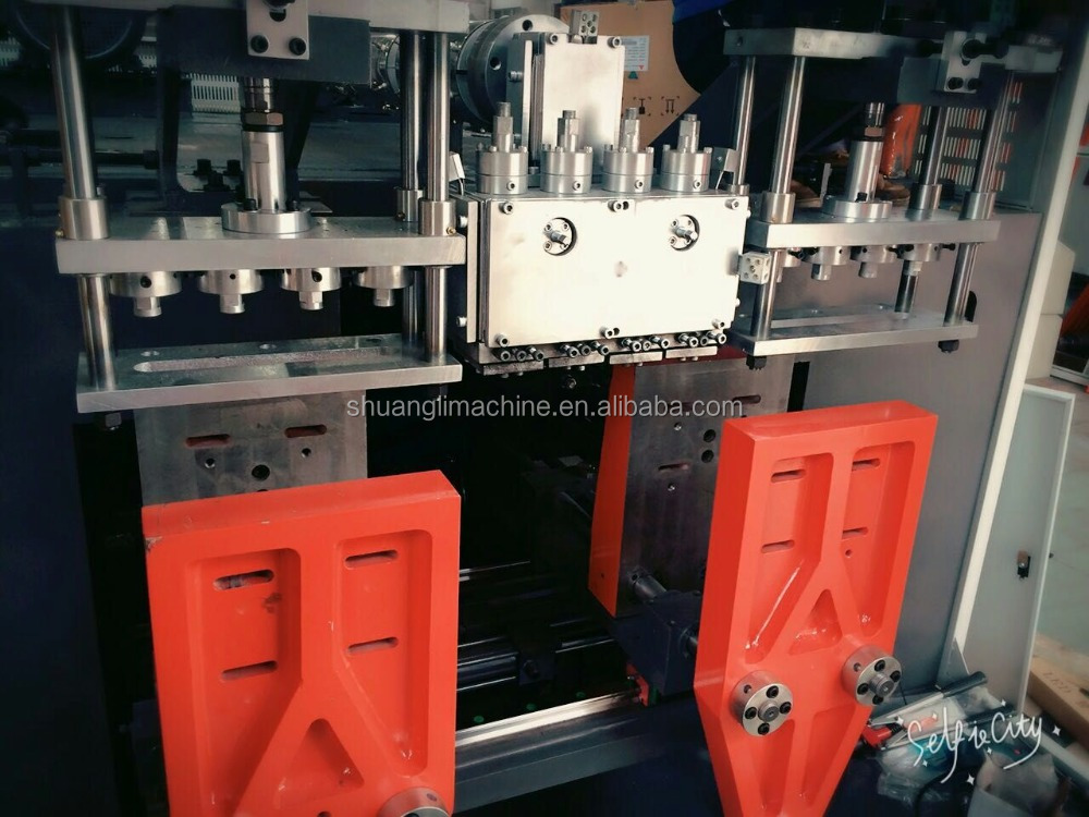 extrusion HDPE plastic bottle blow molding machine