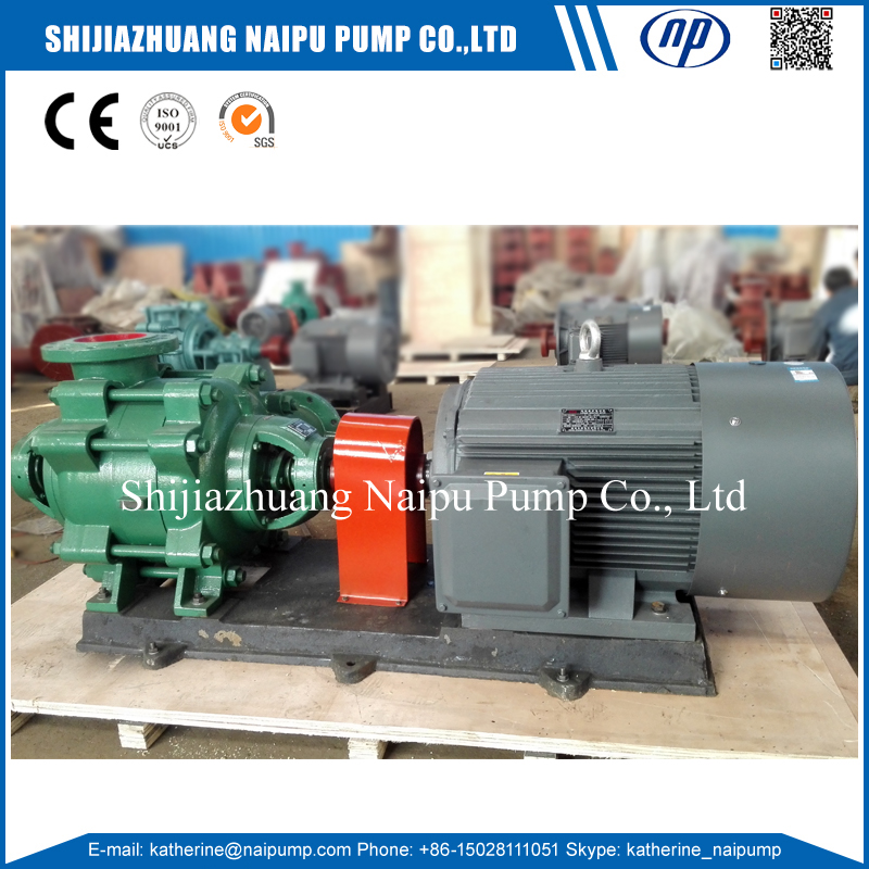 Naipu DG Boiler Feeding High Head Horizontal Multistage Water Pump