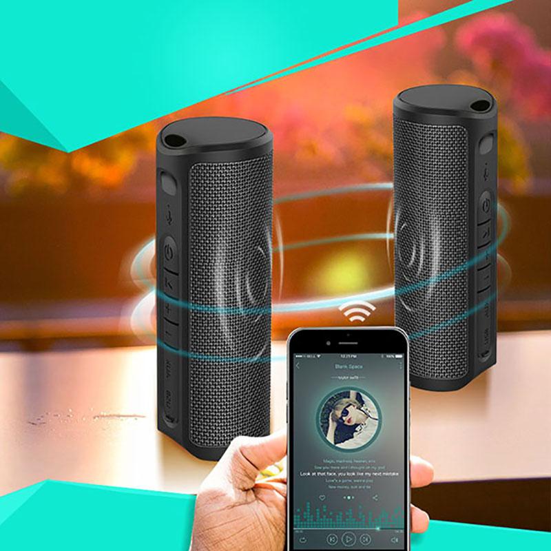 8661e89fa51 Good Rhythm fabric IPX4 10W TWS Wireless waterproof Portable Mini bluetooth  speaker