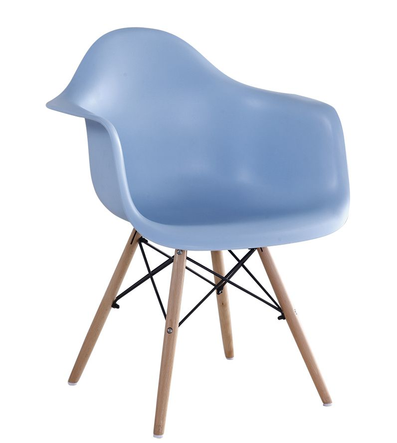 2016 new design cheap modern fabric and wood dining chair