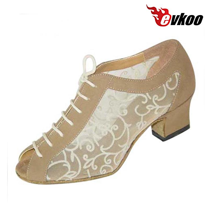 Cuban Heel Ballroom Dance Shoes