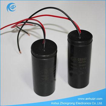 3 wire motor capacitor washing machine capacitor