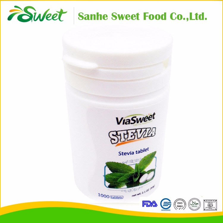 most concentrate stevia tablet in bulk 120 times strong sweetness!!!