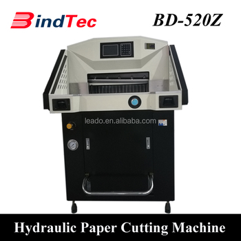 BD-520Z Automatic Paper Cutting Machine Hydraulic Guillotine Paper Cutter