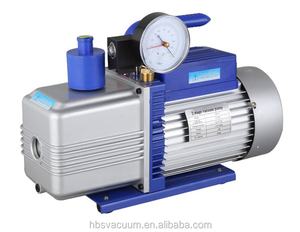 hand oil transfer pumps 2RS-4 powerful vacuum pump with gauge