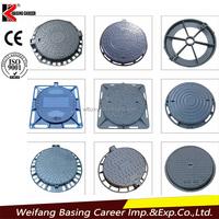 Manhole cover and frame cast iron
