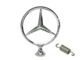 Mercedes w110 w111 w112 GENUINE Hood Star emblem __ KIT