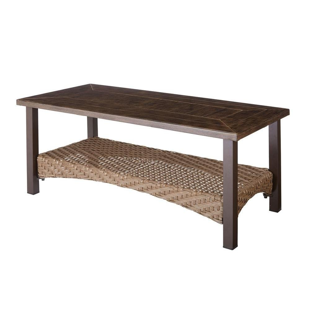 Get Quotations · Bolingbrook Patio Coffee Table
