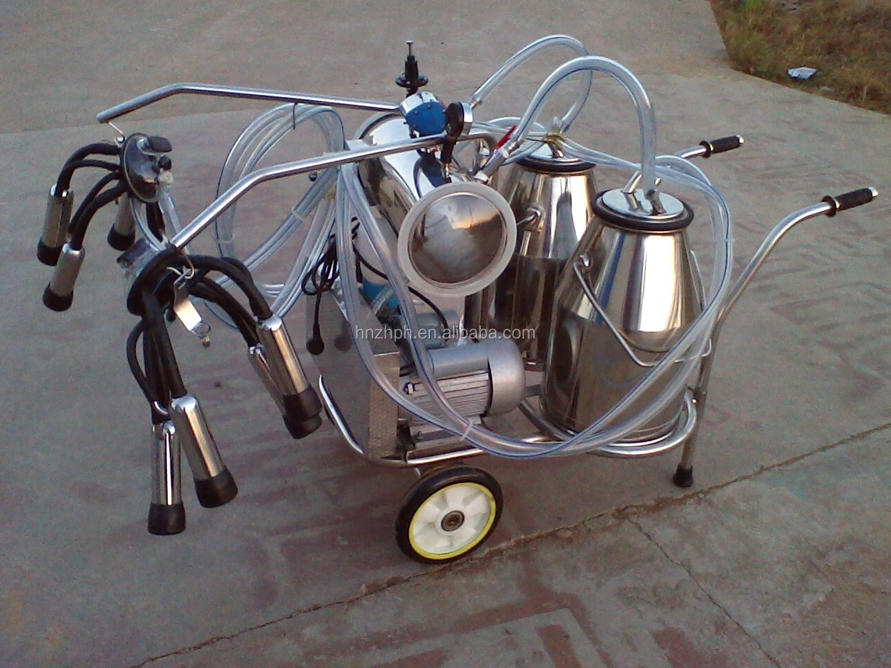 Small Portable  Cow  Goat Milking Machine for Sale