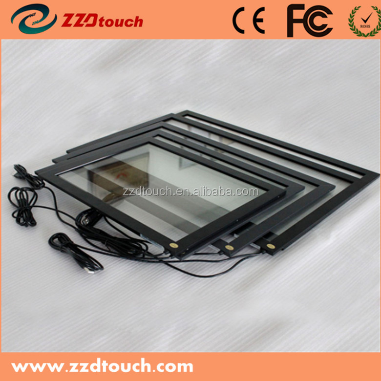 Popular size 18.5 '' touch ir 16:9 ratio on touch frame market