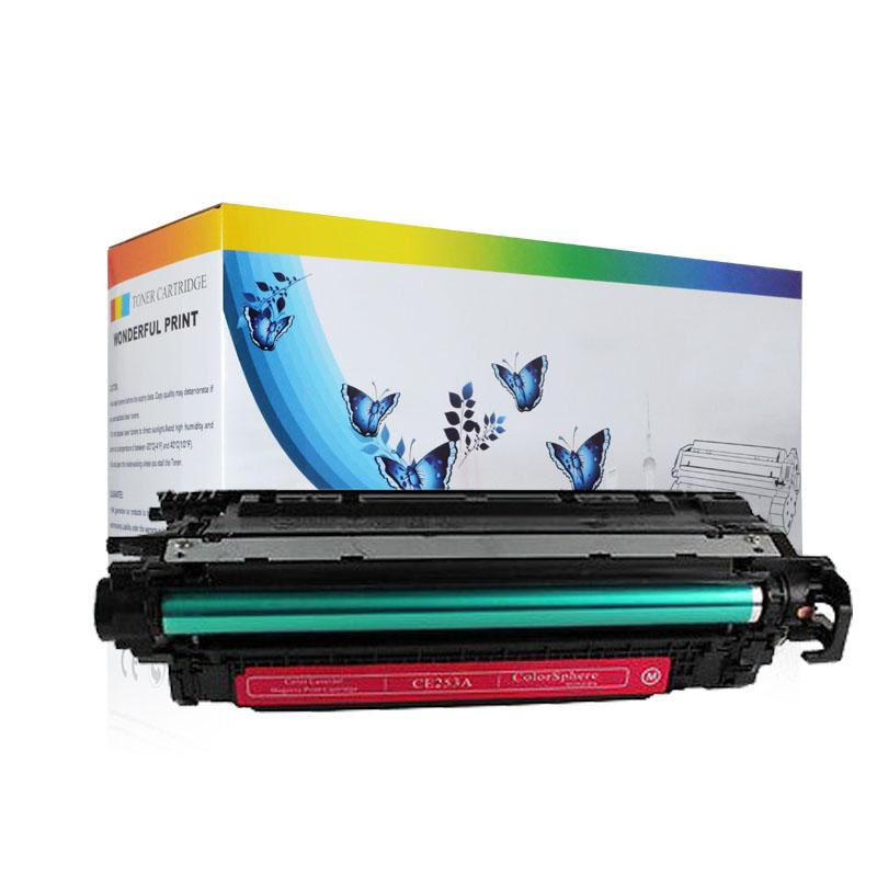 4 sets Virgin Empty Genuine HP Laser Cartridges CE250A CE251A CE252A CE253A