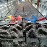 Pre Galvanized rectangular hollow section steel tube