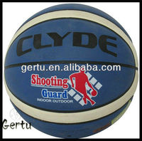 Middle quality PVC synthetic leather laminated basketball